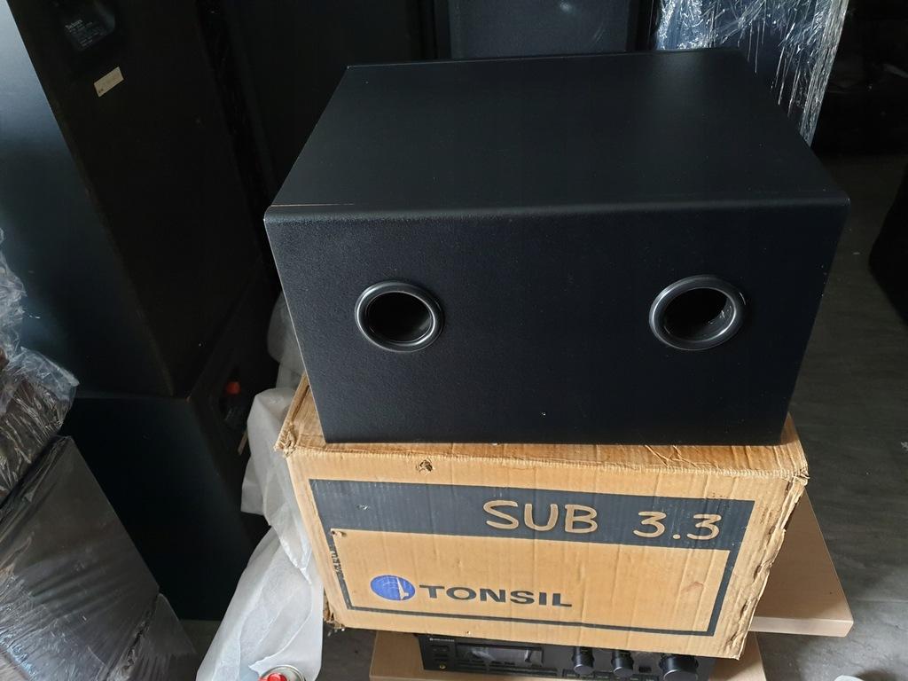 Subwoofer prawie nowy TONSIL SUB 3.3 +Karton od1zł