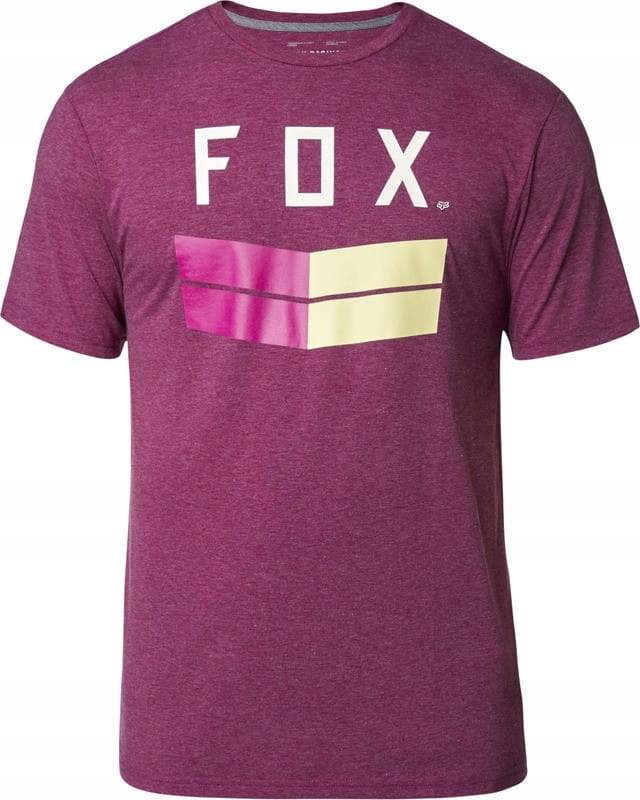 T-SHIRT FOX FRONTIER TECH HEATHER PURPLE L