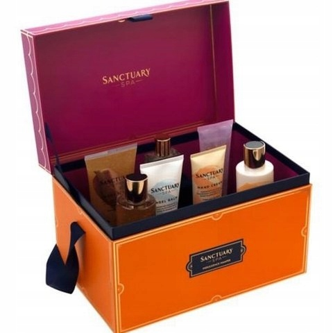 Sanctuary Spa Indulgence Hamper Zestaw Kufer 7 szt