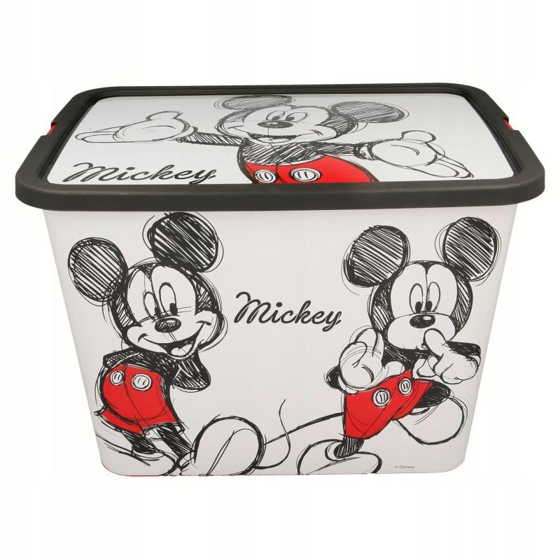 Mickey Mouse - Pojemnik / organizer na zabwki 23 L