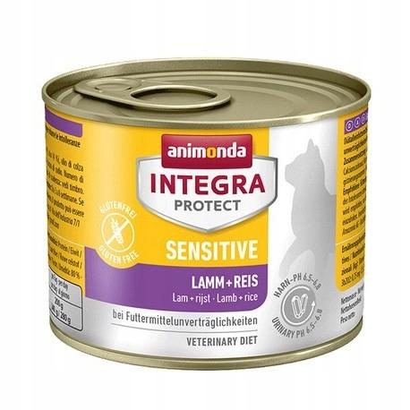 Animonda Integra Sensitive jagnięciną ryżem 200 g