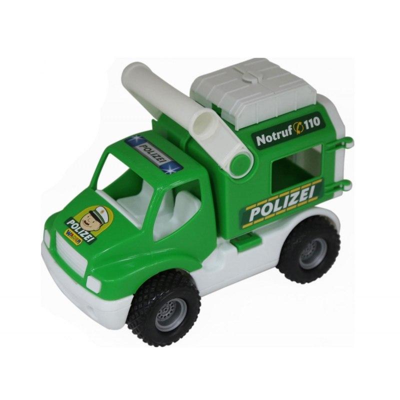 Wader QT ConsTruck Samochód Policyjny Gumowe Koła