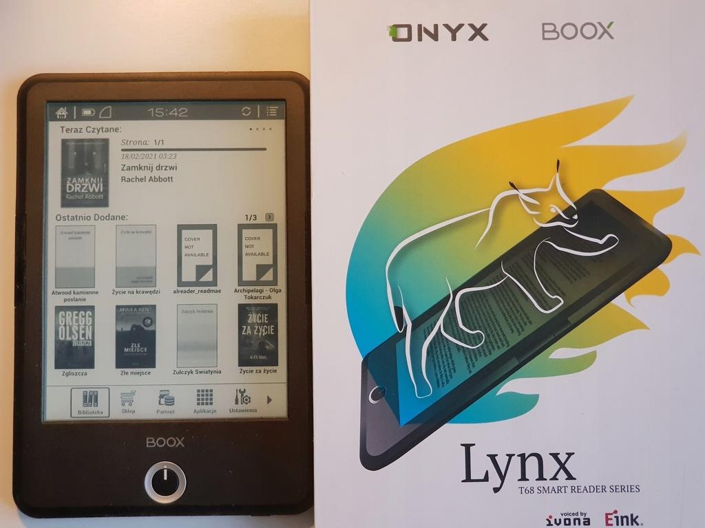"""Onyx Boox Lynx 6,8"""" 1440 x 1080"""