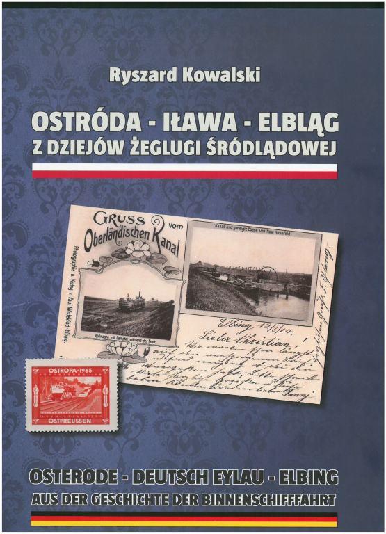 Książka Ostróda-Iława-Elbląg. Z dziejów żeglugi