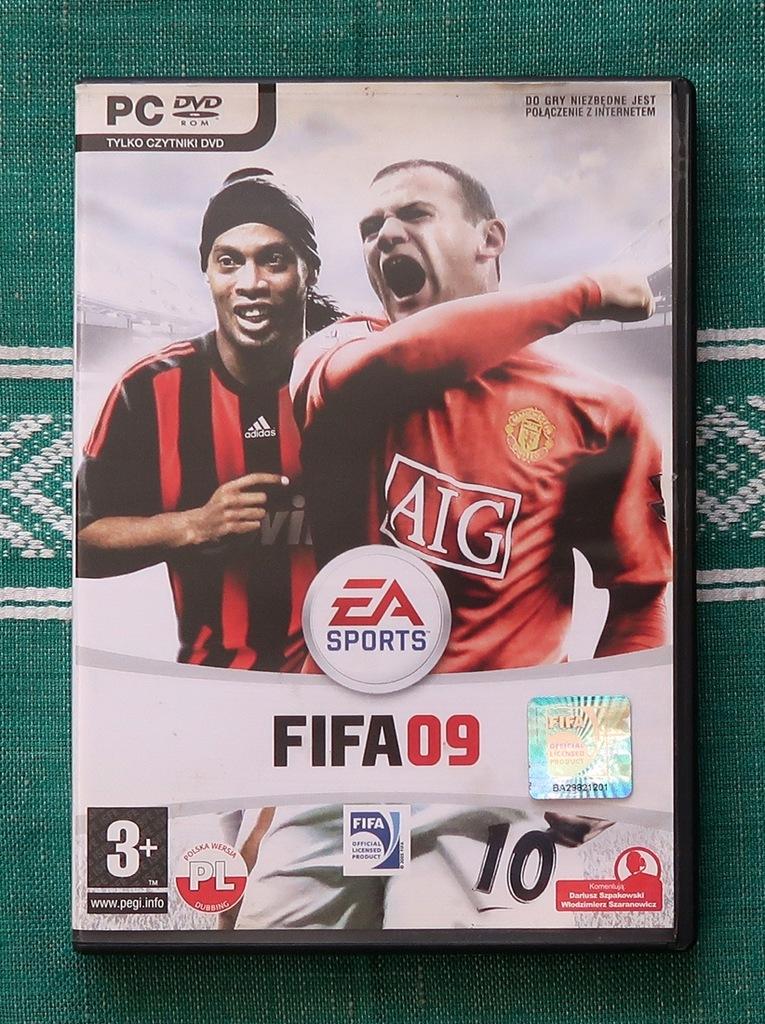 GRA KOMPUTEROWA NA PC FIFA 09 / 2009 PL-SZPAKOWSKI