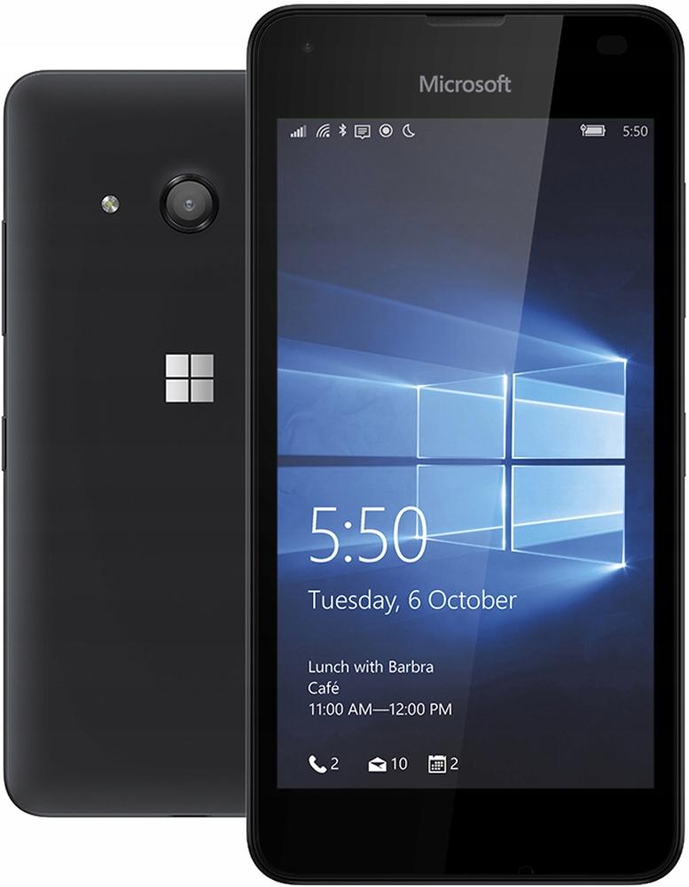 Microsoft Nokia Lumia 550 Ss Lte Czarna 7636391855 Oficjalne Archiwum Allegro
