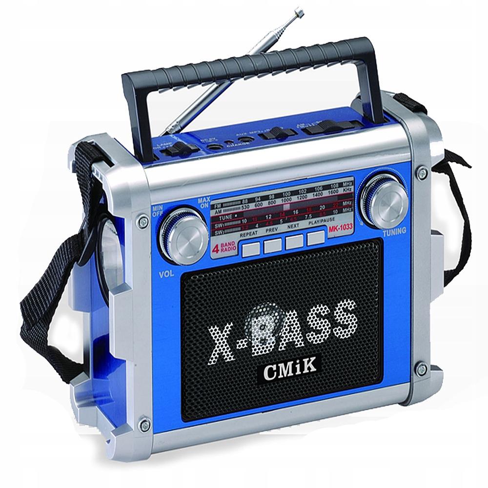 Radio budowlane, Głośnik na budowę MP3 Pendrive SD