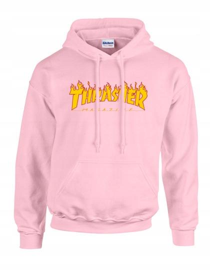 bluza thrasher rozowa damska