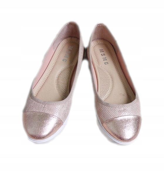 buty koturny złote śliczne r.38