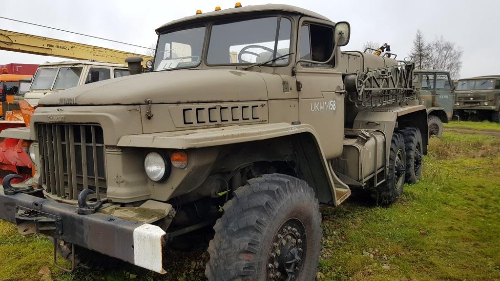 URAL 375D z wojska kilka sztuk