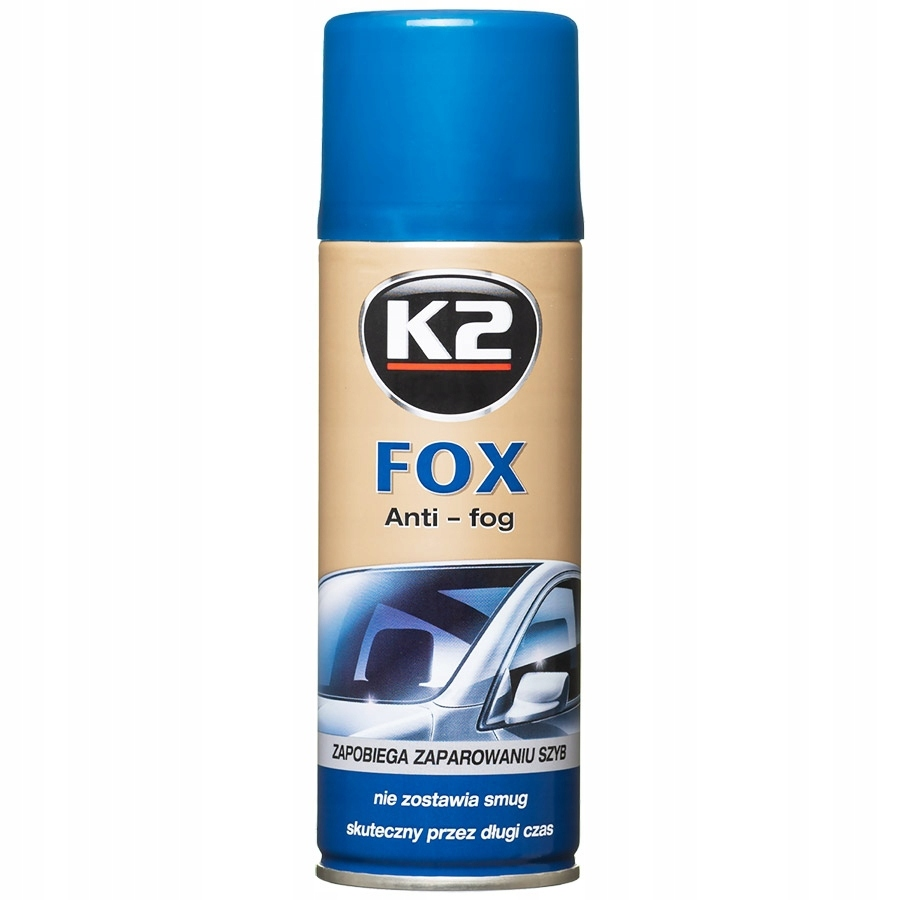K2 Fox Spray zapobiegający parowaniu szyb 200ml