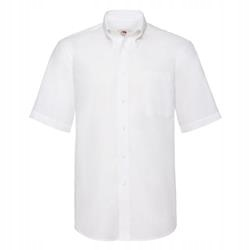 MĘSKA koszulka SHORT OXFORD FRUIT biały S