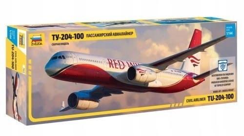 Zvezda 7023 1/144 Tupolev TU-204-100