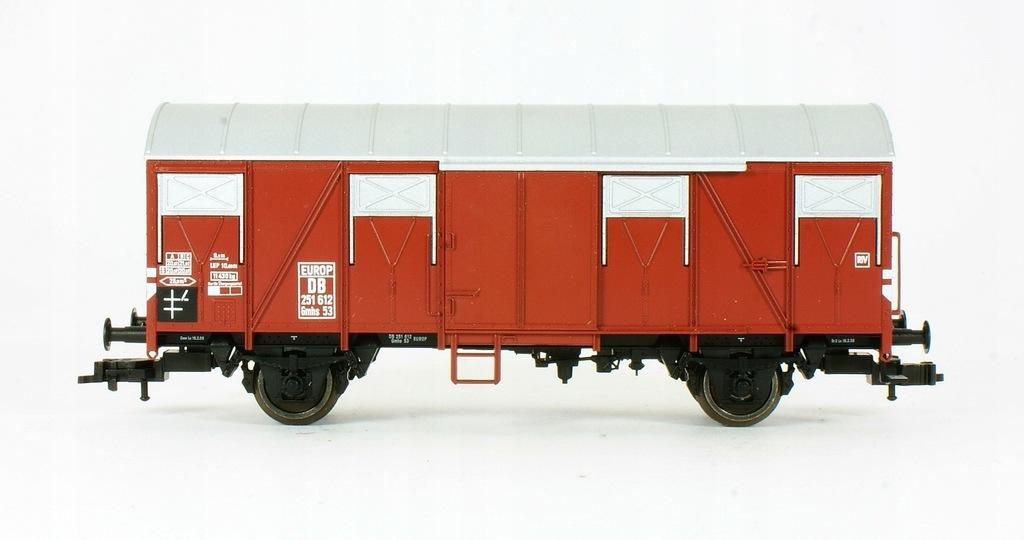 Fleischmann. Wagon towarowy Gmhs53 DB III ep.