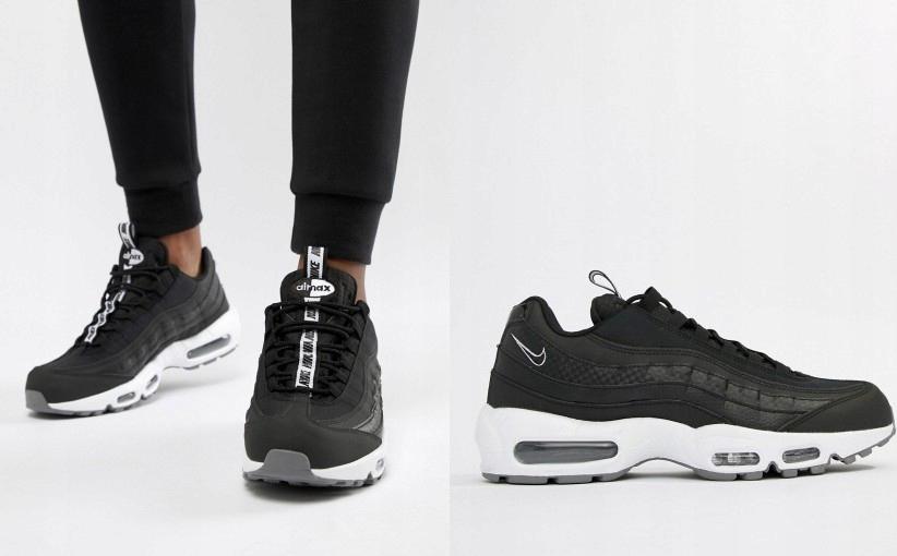 Nike – Air Max 95 SE – Czarne buty sportowe AQ4129 002 | ASOS