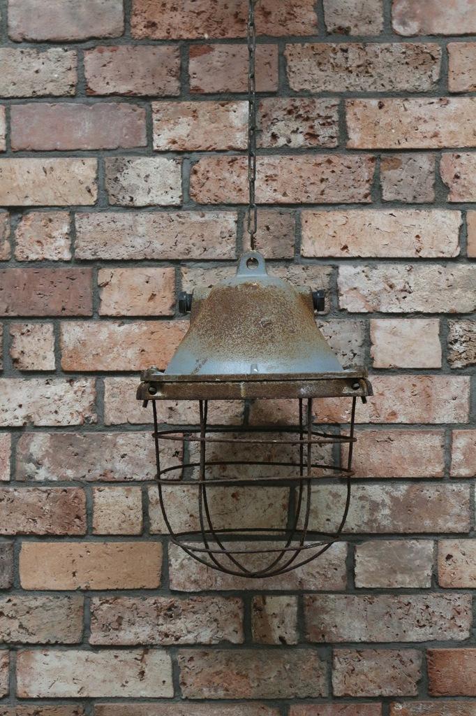 LAMPA PRZEMYSŁOWA PRL LOFT INDUSTRIAL lampy 4 szt