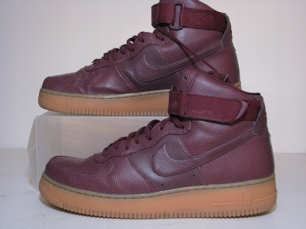 Nike WMNS Air Force 1 HI SE 860544 600 | Wiśniowy