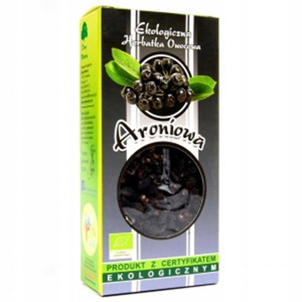 Aroniowa Herbatka Ekologiczna 100 G Dary Natury