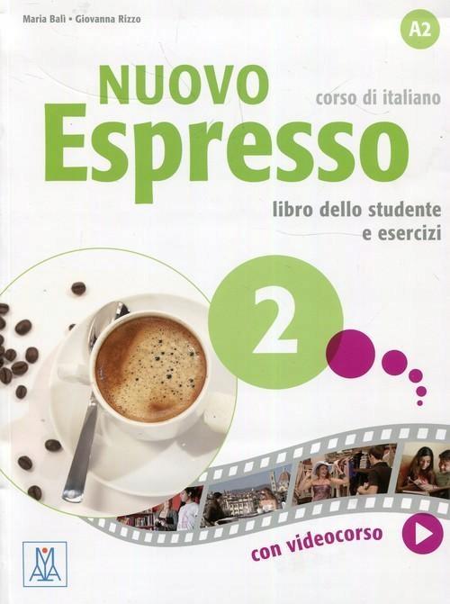 Nuovo Espresso 2 podręcznik + ćwiczenia A2 Bali