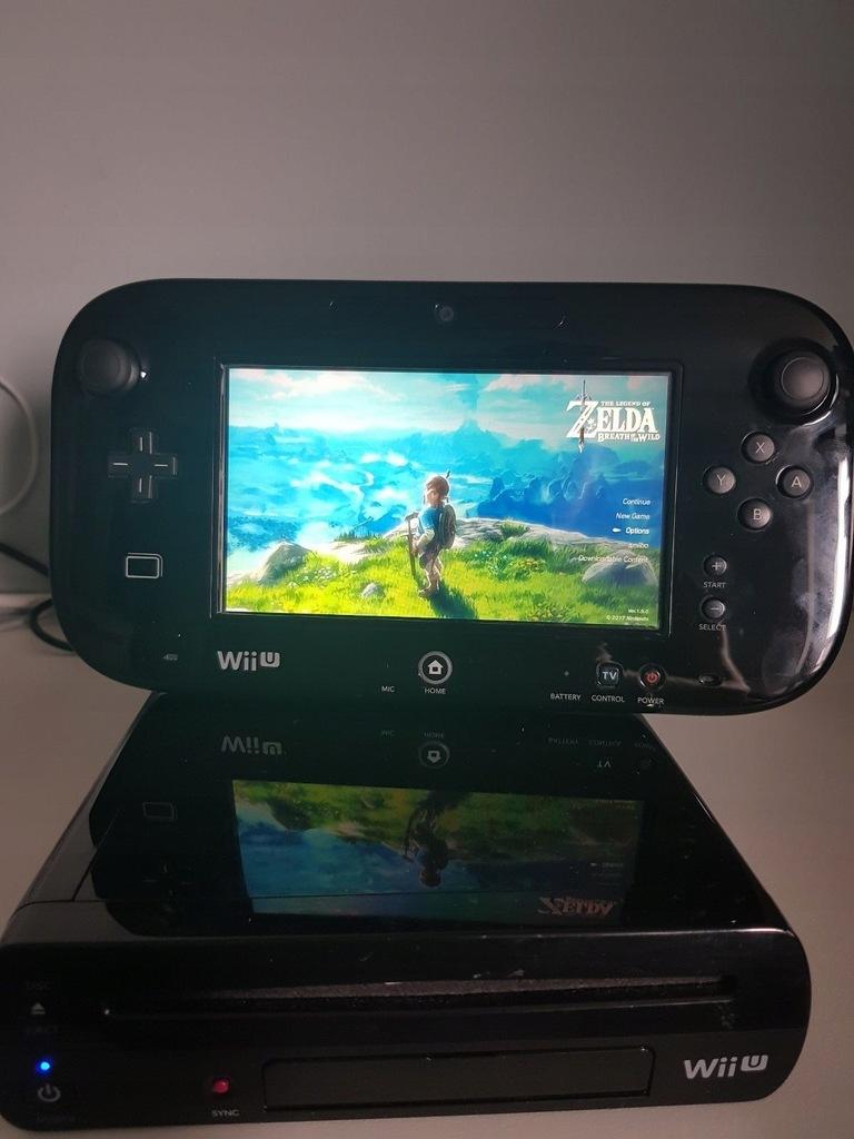 Konsola Wii U Czarna Dysk 101 Gier Na Wii U 9242959037 Oficjalne Archiwum Allegro