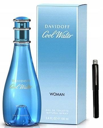 DAVIDOFF COOL WATER WOMAN 100ML +PERFUMETKA GRATIS