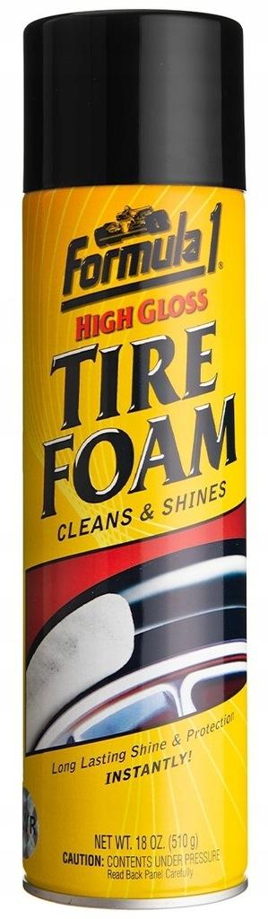 FORMULA1 Tire Foam 623g Pianka do pielęgnacji opon