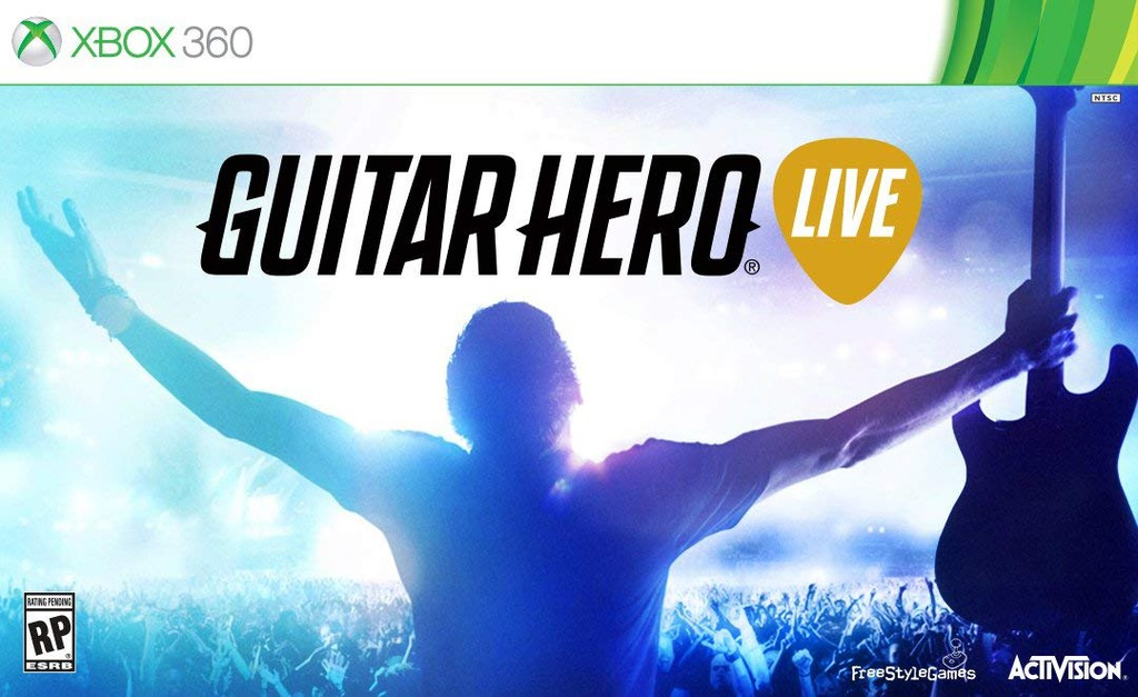 GUITAR HERO LIVE GITARA XBOX 360 OKAZJA!! TANIO!!