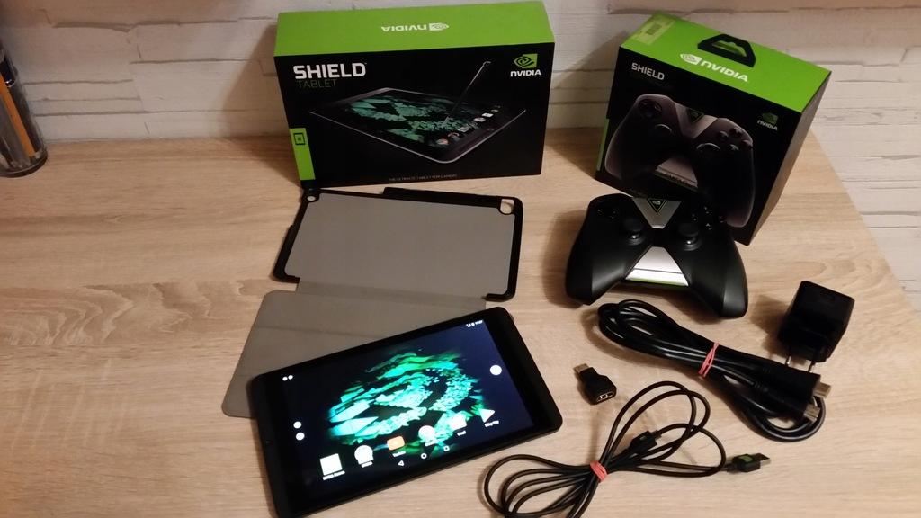 Tablet Do Gier Nvidia Shield 32gb Jak Nowy 7824591790 Oficjalne Archiwum Allegro