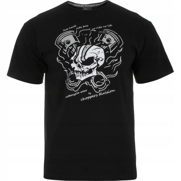Koszulka T-SHIRT czaszka SKULL harley PREZENT r S