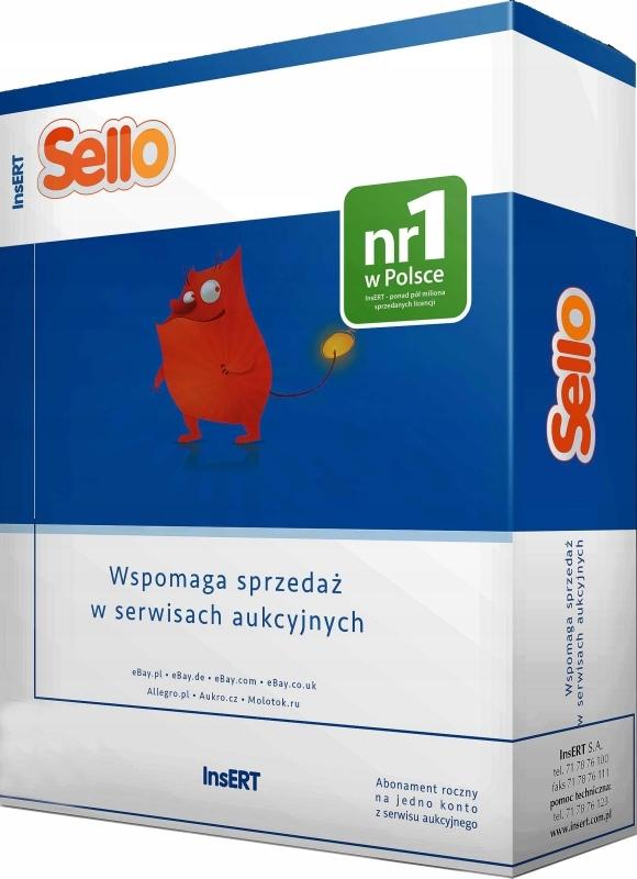 Sello Licencja roczna Obsługi Aukcji Allegro KOD