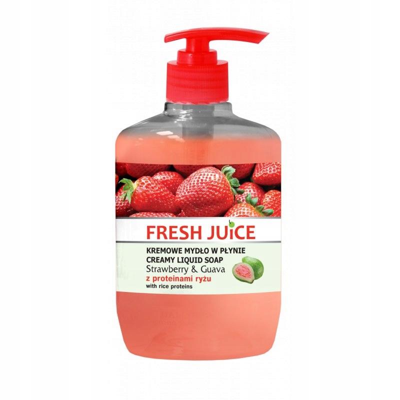 Fresh Juice - Kremowe mydło - Strawberry & Gua