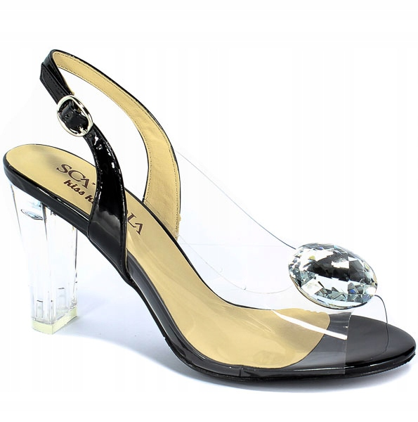 Sandały SCA'VIOLA G 17 Black 1
