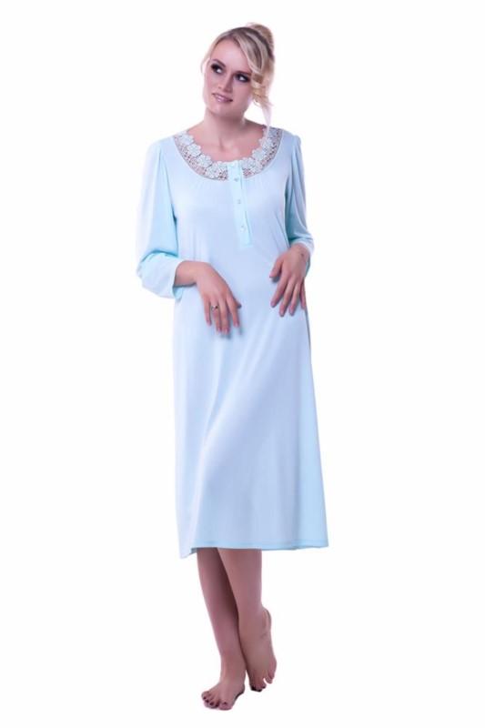 Koszula nocna Antonina niebieski 56 Mewa producent