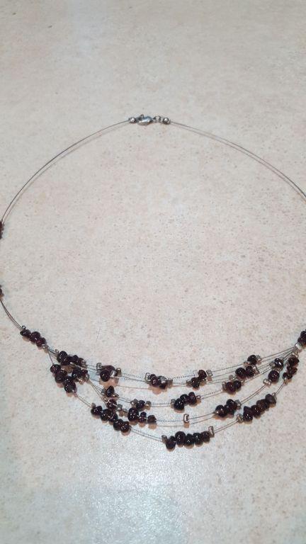 Naszyjnik 5 sznurów