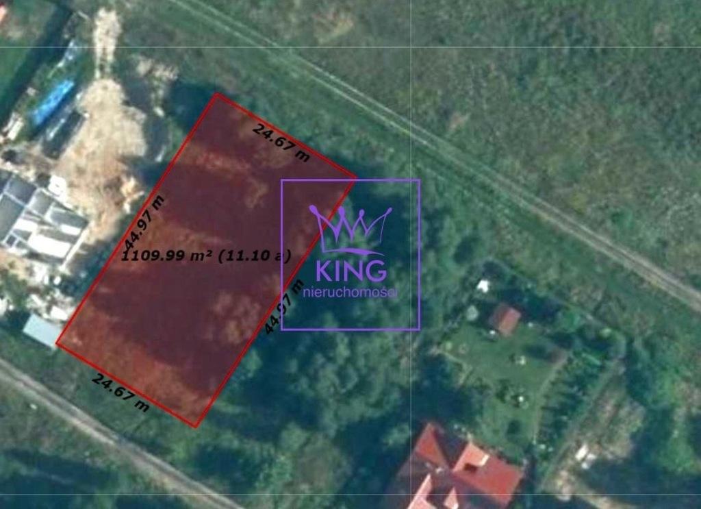 Działka, Dołuje, 1100 m²