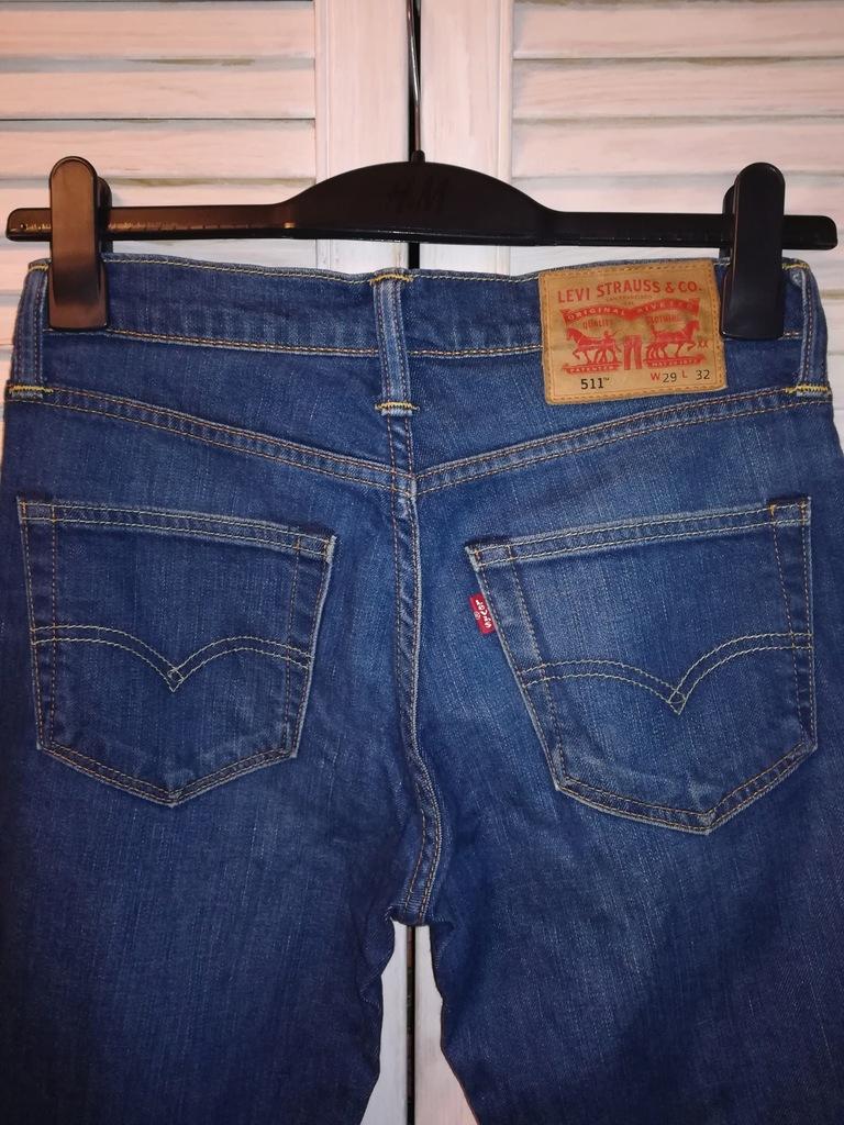 LEVI'S 511 Levi jeans spodnie W 29 L 32