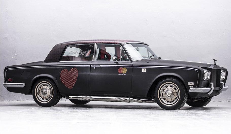 Rolls-Royce od Mastercard i Braci Collins