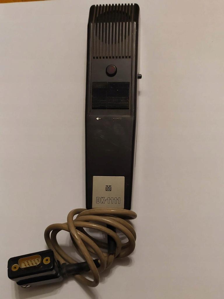 Mikrofon Unitra DK-1111 do dyktafonu biurowego