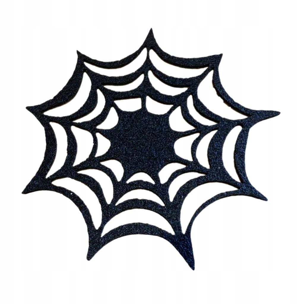 Spider Web Coaster czarny