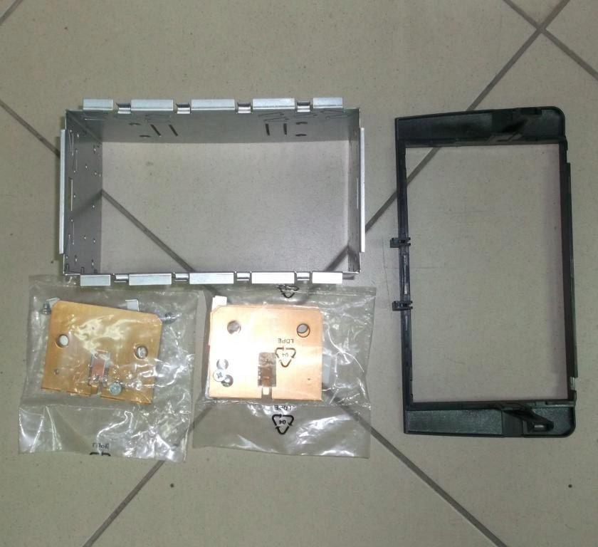 Podwójny panel DIN AUDI A3 AB 2003/TT