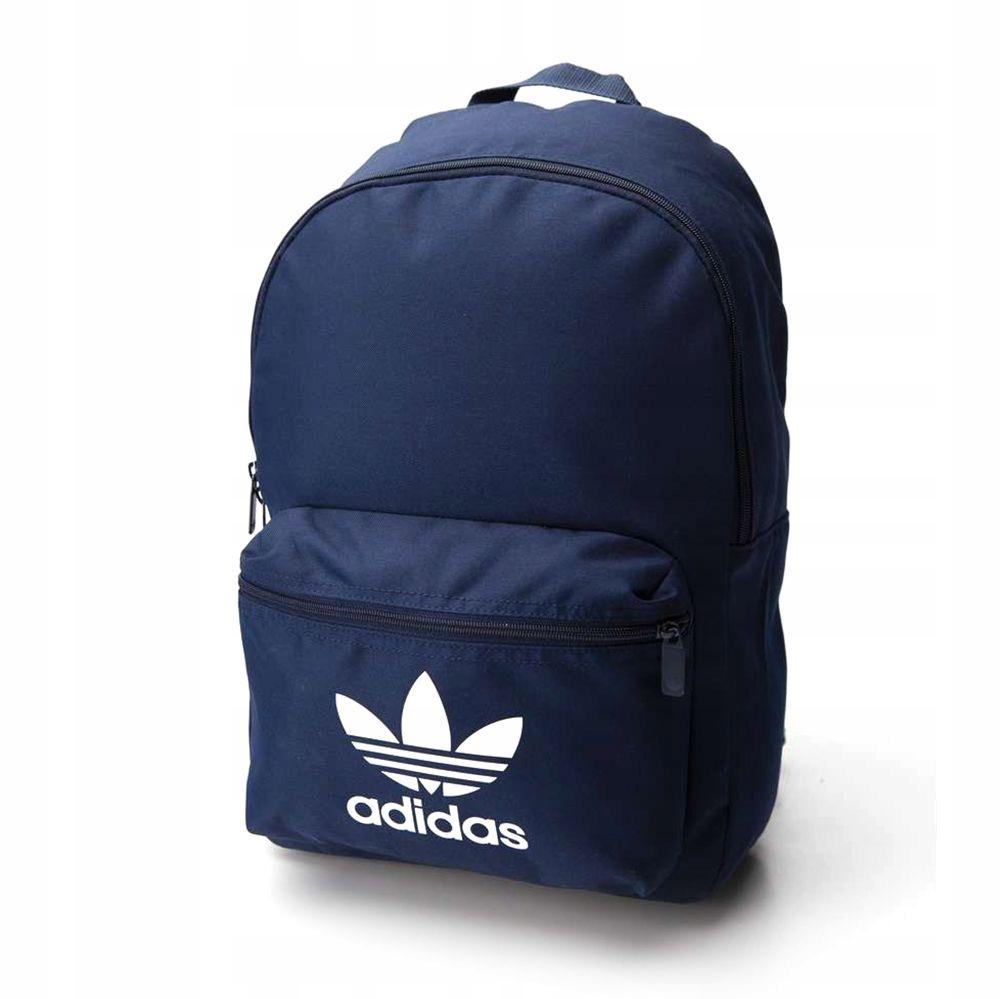 Plecak szkolny Adidas ADICOLOR logo granatowy 24L