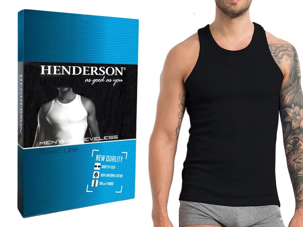 Podkoszulek K2 Henderson BASIC czarny M