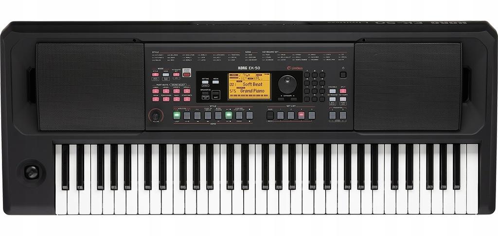 KORG EK-50L keyboard/aranżer WERSJA PRO!