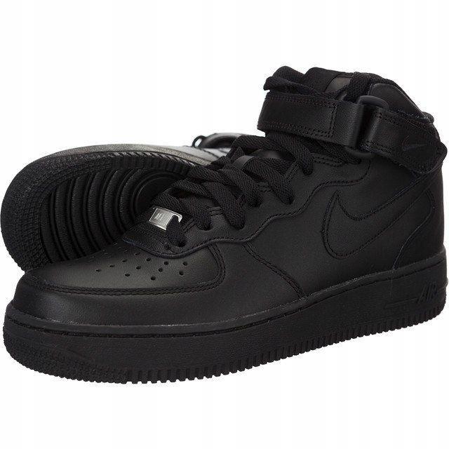 Buty Damskie Nike WMNS Air Force 1 `07 Czarne
