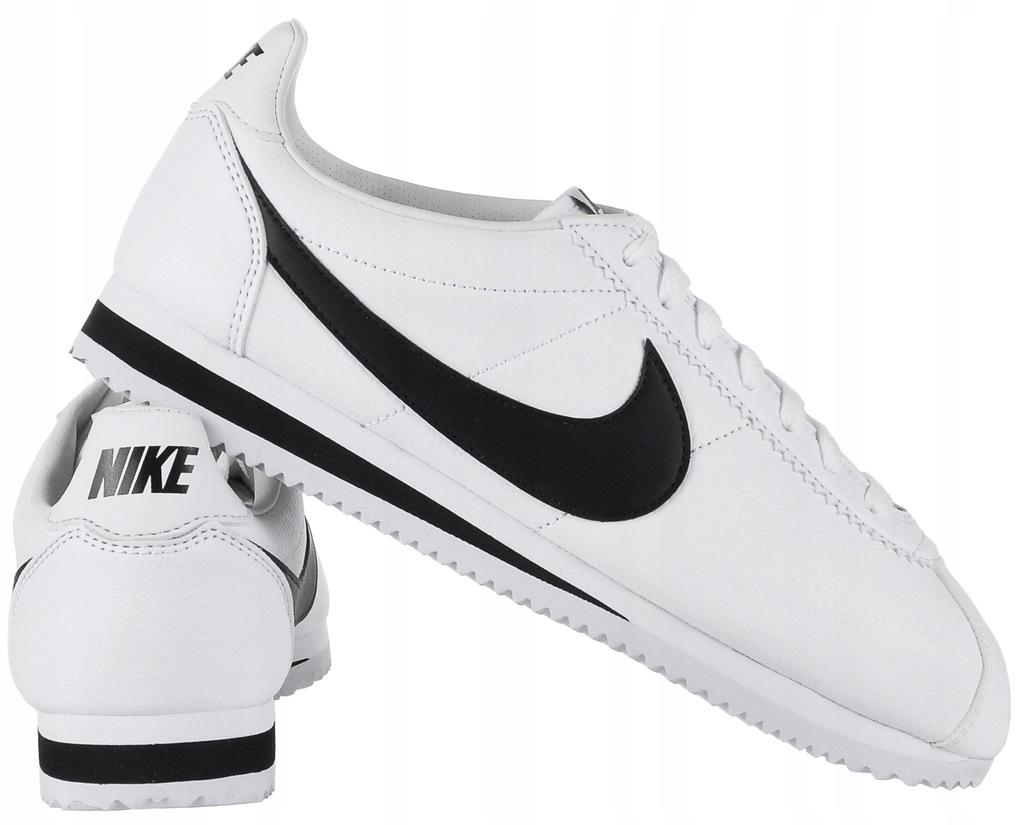 Nike Buty męskie Classic Cortez Leather białe r. 45 (749571