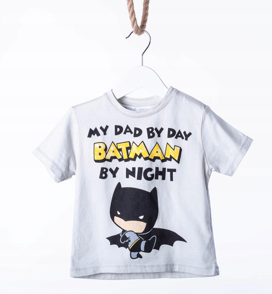 T-shirt Chłopiec 92 Batman Zara