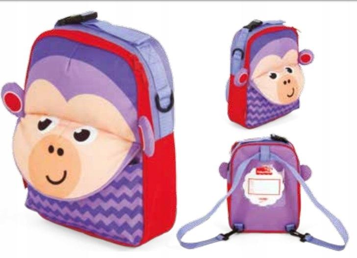 Plecak 3 w 1 Fisher Price - Małpka 3D