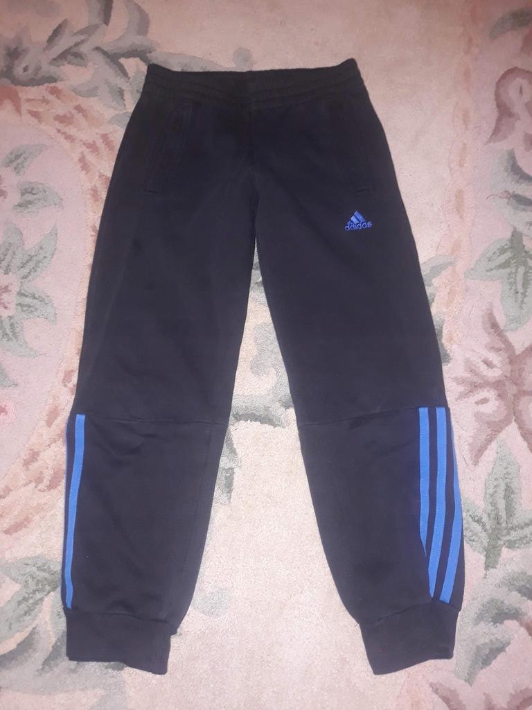 Adidas spodnie dresowe 128 cm. 7-8 lat