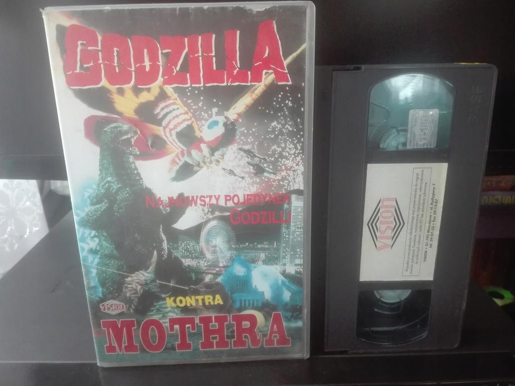 GODZILLA VS MOTHRA - Kaseta VHS