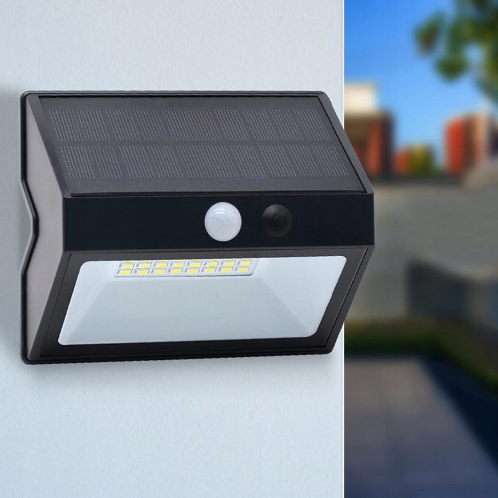 48LED Kinkiet zasilany energią słoneczną Lampa z c